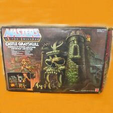 VINTAGE MATTEL HE-MAN MASTERS OF THE UNIVERSE CASTLE GRAYSKULL RARE WHITE BOX