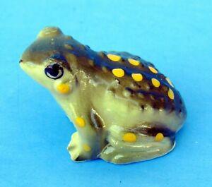 Bug House Japan Vintage Bone China Miniature Toad