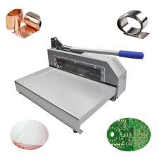 Techtongda Metal Plate Cutter For Cutting Circuit Board Sheets Guillotine Shear