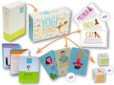 YOGI- Yoga Cards for Kids Joyful Learning 40 cards - 20 illustrations