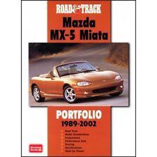 ROAD & TRACK MAZDA MX-5 MIATA Tettuccio PORTFOLIO 1989-2002 BOOK LIBRO