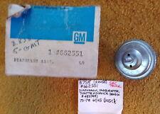 1973-78 GMC Carburetor Throttle Advance Diaphragm Bendix NOS 622551
