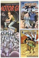 (Lot Of 3) Motor Girl Number 4, 5 And 9 by Terry Moore Abstract Studio 2017 NM