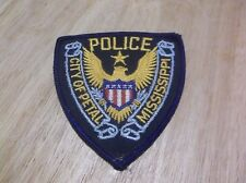 CR16) Petal Mississippi Police Patch