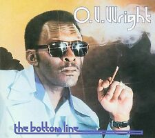 O.V. Wright - The Bottom Line - New Factory Sealed CD