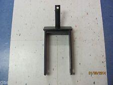 """Rotary Cutter Wheel Fork, Bush Hog Wheel Fork 1-1/4"""" Post W/ A 1"""" Axle Hole"""