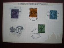 POSTCARD RP ROYAL MAIL A COLLECTION OF CROYDON POSTMARKS -LONDON POSTAL REGION P