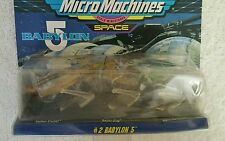 Babylon 5 space  Micro Machines Set 2 collectible  toy 65620
