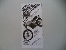 advertising Pubblicità 1980 MOTO SWM GTS RACING 315