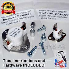 Pellet Stove Parts Breckwell Limit Switch Kit  C-E-090-21 + C-E-090-22C + instr.