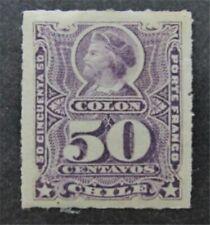 nystamps Chile Stamp # 34 Mint OG H $30