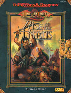 AD&D 2nd Dragon Lance Rise of the Titans - A Battle Lines Adventure