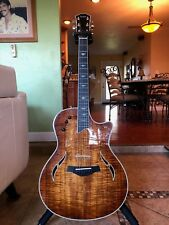 2011 Taylor T5 C2 Custom Koa, Hollow body Hybrid Guitar PERFECT COND Taylor t5