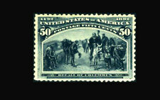 US Stamp Mint OG, XF #240 Lightly Hinged