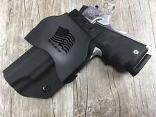 """OWB PADDLE Holster 1911 4""""  Kydex Retention SDH"""