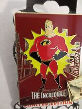 Disney DSF DSSH Pins The Incredibles Best Animated Feature Poster 2004 LE Pin