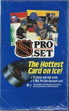 Pro Set 1990 Sealed Box of NHL Hockey Cards 36 Packs Series 1