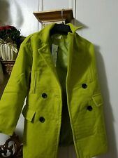 Winter Coat Lime Green Forever 21 Style