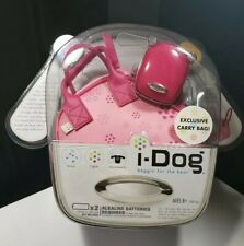 2007 TIGER HASBRO PINK BEGGIN FOR THE BEAT I DOG WITH PINK CARRY BAG - J1
