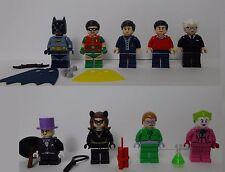 LEGO 76052 Batman Robin Joker Catwoman 9 figures Batcave Classic TV Series New