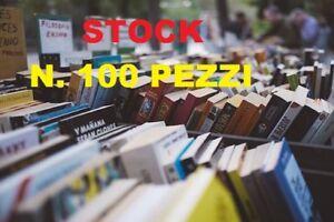 STOCK DI 100 LIBRI PER BANCARELLE E MERCATINI