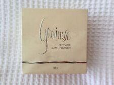 LARGE Vintage Max Factor GEMINESSE  160g Of Perfume Bath Powder Still Sealed.