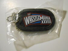 Wrestling Wrestlemania XXV111 rare limited issue Keychain