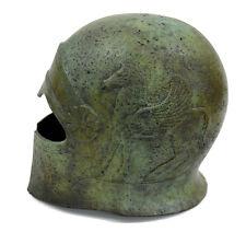 Cretan Ancient Greek 100% Bronze Helmet Museum Replica Reproduction