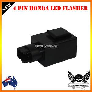 4 Pin LED Turn Signals Flasher Relay Honda shadow VTX1300 VT750 SV VT 1300 RVT