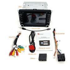 "Autoradio 7"" tactil 2din MP3 coche dvd GPS bluetooth vw/ volkswagen /skoda/ Seat"