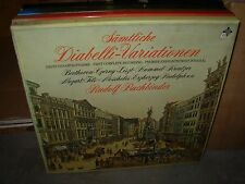 BUCHBINDER / SAMTLICHE diabelli variationen ( classical ) 3lp box telefunken
