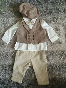 Mamas and Papas baby boy smart outfit 0-3m