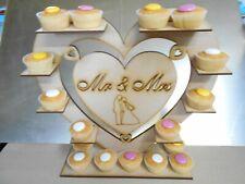 Cupcake Display Stand Wedding  Mr & Mrs