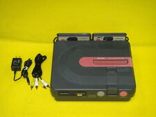 Twin Famicom Console Sharp AN-500B Fully Working Video Game 100V - 240V Japan