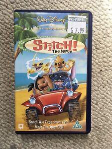 Vintage Lilo And Stitch VHS Tape