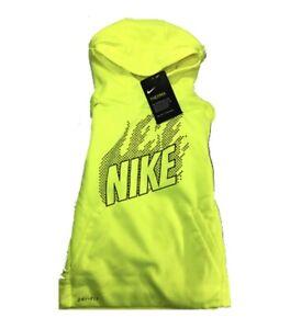 Boys Nike Hoodie Neon Yellow NWT