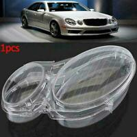 1x Headlight Lenses Headlamp Cover Replacement Halogen Benz W211 E1A0 N0L4
