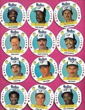 RARE 1988 TORONTO BLUE JAYS TEAM  HOSTESS FOOD  CARD LOT (INV# C4933)
