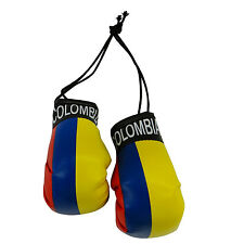 COLOMBIA COUNTRY FLAG MINI BOXING GLOVES .. NEW