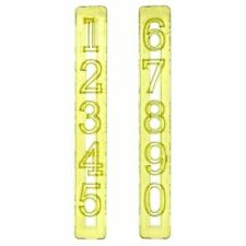 Numbers Cutters Sugarcraft Fondant Tools Cake Decoration By FMM
