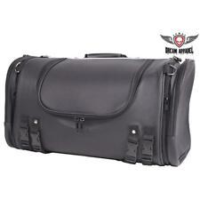 Medium PVC Motorcycle Sissy Bar Bag / Travel Trunk with Rain Cover