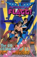 Howard Chaykin 's American Flagg! # 4 (Mike vosburg) (états-unis, 1988)