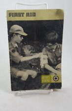 Vintage 1976 Boy Scouts Of America First Aid Guide (T)