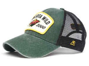 "Minnesota Wild ""Vintage"" NHL trucker hat cap"