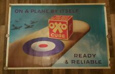 OXO   WORLD WAR II  RAF POSTER - SPITFIRE - HURRICANE - BATTLE OF BRITAIN - 2