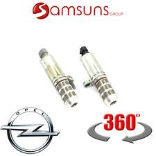 1 SET (2x) Original Opel Steuer ventil, Nockenwellen verstellung, Magnetventil
