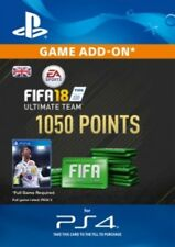 FIFA 18 FUT 1050 Points UK PS4  - Same Day Dispatch