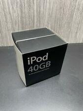 New NIB Vintage Apple iPod 40GB 2003 M9245LL/A 3rd Generation Everything is here