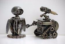 METAL SCULPTURE Mini Robot Handmade Recycled Creative Wedding Gifts Groom Gifts