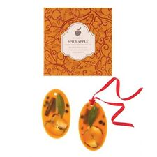 Rosy Rings Wax Oval Botanical Sachet - Spicy Apple